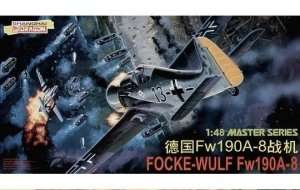Fighter Focke-Wulf Fw190A-8 in scae 1 48