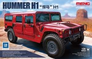 Hummer H1 in scale 1-24 Meng CS-002