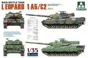 Tank Leopard 1 A5-C2 - Takom 2004