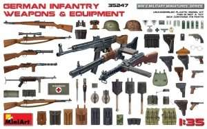 German Infantry Weapons and Equipment in scale 1-35