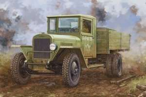 Russia ZIS-5B Truck in scale 1-35 Hobby Boss 83886