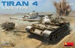 Tiran 4 Late Type - Interior Kit - model in scale 1-35