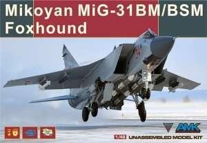 Mikoyan MiG-31BM/BSM in scale 1-48 AMK 88003