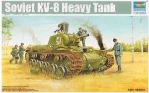 Soviet heavy tank KW-8 Trumpeter 01565