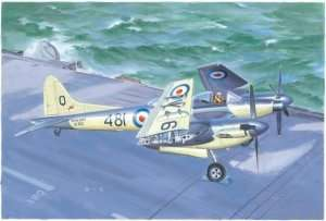 De Havilland Sea Hornet NF.21 in scale 1-48