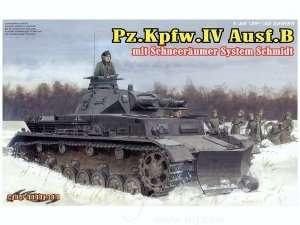 Dragon 6764 Pz.Kpfw.IV Ausf.B mit Schneeraumer System Schmidt