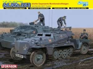 Sd.Kfz.252 leichte Gepanzerte Munitionskraftwagen mit trailer in scale 1-35