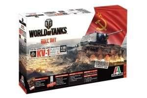 KV-1/KV-2 World of Tanks - WOT in scale 1-56 - Italeri 56505