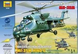Zvezda 7276 Soviet atack helicopter MIL Mi-35