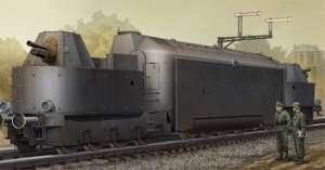 German Armored Train Panzertriebwagen Nr.16 in scale 1-35
