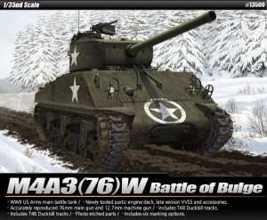 M4A3(76)W Battle of Bulge - scale 1-35