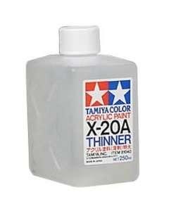 Tamiya Color Acrylic Paint Thinner X-20A - 250ml