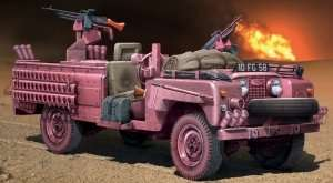 S.A.S. Recon Vehicle Pink Panther in scale 1-35