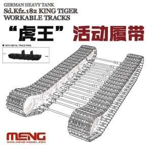 King Tiger Workable Tracks in scale 1-35