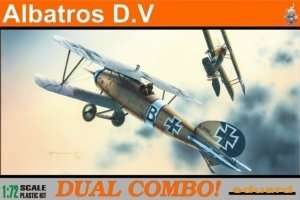 German WWI fighter Albatros DV Eduard 7021