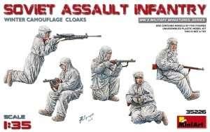 Soviet assault infantry winter comouflage cloaks MiniArt 35226