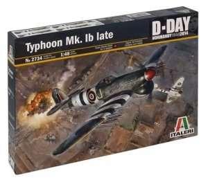 Typhoon Mk. Ib late in scale 1-48 Italeri 2734