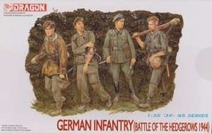 German Infantry - Battle of the Hedgerows 1944 in scale 1-35