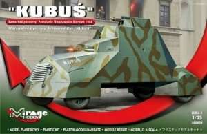 Warsaw 44 Uprising Armoured Car Kubuś