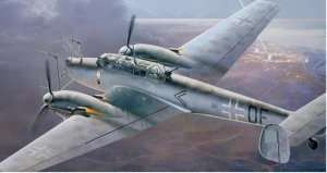 Messerschmitt Bf 110G-4 in scale 1-48