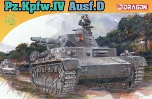 Pz.Kpfw.IV Ausf. D in scale 1-72 Dragon 7530