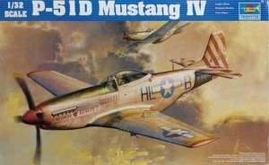 American fighter P-51D Mustang IV Trumpeter 02275