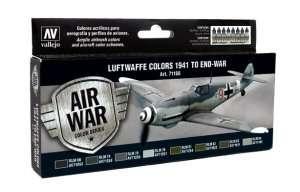 Luftwaffe Colors 1941 to end-war - set - Vallejo 71166