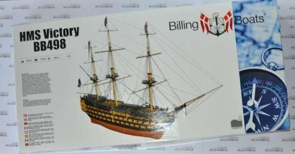 Drewniany model do sklejania HMS Victory Billing Boats BB498 - sklep_modelarski_modeledo_image_bb498_1-image_Billing Boats_BB498_2