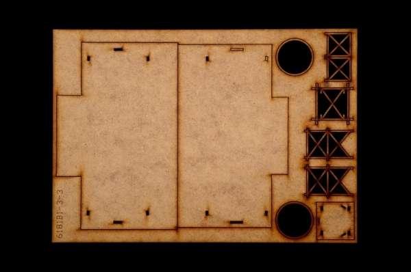 Battle Set El ALamein The Railway Station Italeri 6181 zestaw modelarski do sklejania image_1_ita6181_p-image_Italeri_6181_6