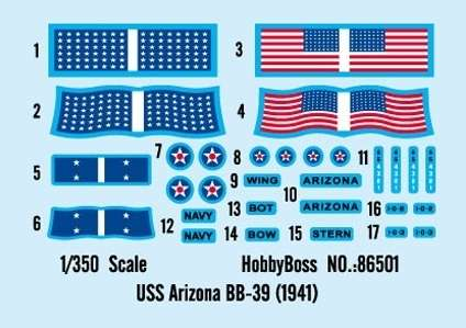 Battleship Arizona BB-39 model_do_sklejania_hobby_boss_86501_image_1-image_Hobby Boss_86501_3