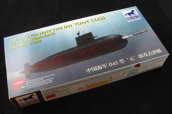 plastikowy-model-do-sklejania-okretu-podwodnego-klasy-yuan-sklep-modelarski-modeledo-image_Bronco Models_BB2004_1