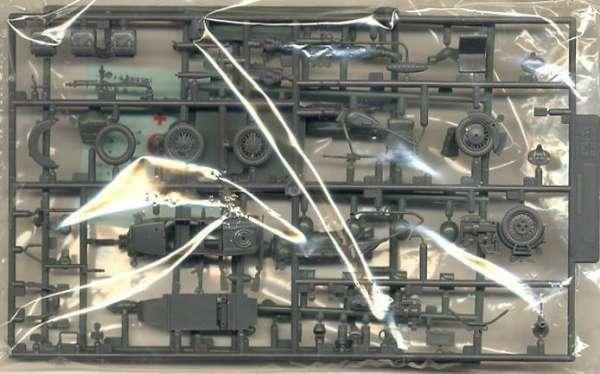 Wypraski modelu Tamiya 35016