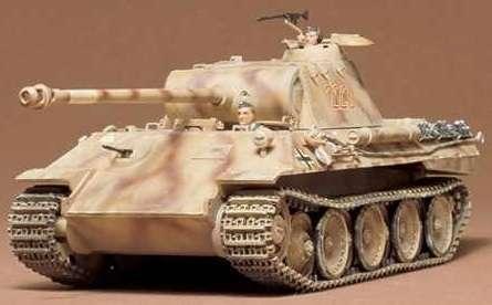 German Panther Medium Tank in scale 1-35 Tamiya 35065
