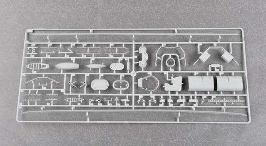 Plastikowy model do sklejania brytyjskiego pancernika w skali 1:200 - Trumpeter_03708_image_13-image_Trumpeter_03708_8