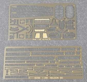 Plastikowy model do sklejania brytyjskiego pancernika w skali 1:200 - Trumpeter_03708_image_2-image_Trumpeter_03708_3