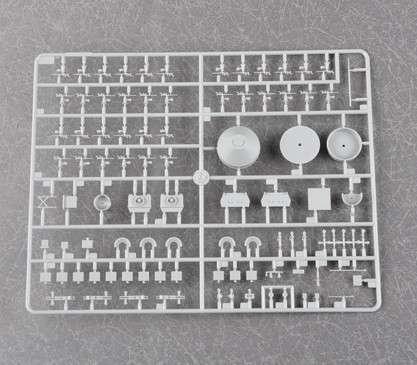 Plastikowy model do sklejania brytyjskiego pancernika w skali 1:200 - Trumpeter_03708_image_11-image_Trumpeter_03708_8