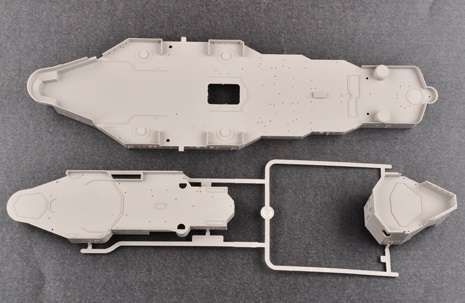 Brytyjski okręt wojenny - pancernik HMS Rodney w skali 1:200 plastikowy model do sklejania Trumpeter_03709_image_17-image_Trumpeter_03709_5