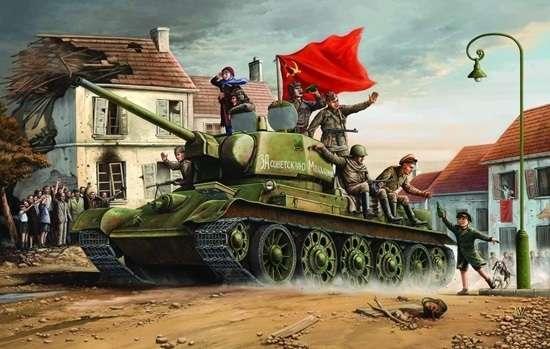 Trumpeter 00903 w skali 1:16 - model Soviet Tank T34/76 model 1943 - image p