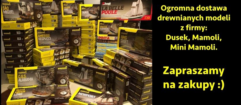 Ogromna dostawa drewnianych modeli z firmy Dusek, Mamoli i Mini Mamoli.