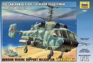 Zvezda 7221 Russian Marine Helicopter Helix B Ka-29