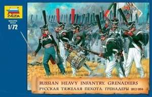 Zvezda 8020 Russian Heavy Infantry. Grenadiers 1812-1815