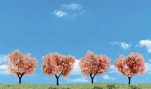 Woodland TR3593 Drzewa kwitnące 4szt