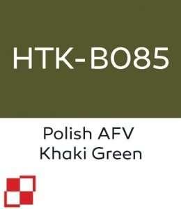 Hataka B085 Polish AFV Khaki Green - farba akrylowa 10ml