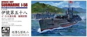 AFV SE73508 Submarine I-58 Late w/Kaiten