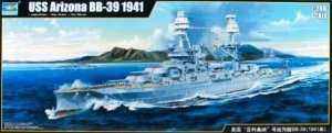 Model pancernika USS Arizona BB-39 Trumpeter 03701