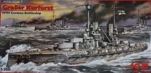 Model WWI German Battleship Grosser Kurfurst ICM S002