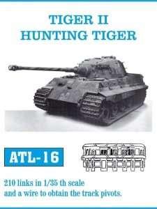 Metalowe gąsienice do Tiger II Hunting Tiger