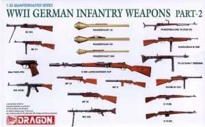 Dragon 3816 WWII German Infantry Weapons Part-2