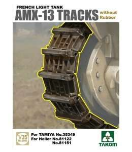 Takom 2060 AMX-13 Tracks without Rubber