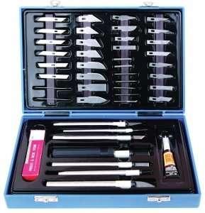 Adler AD-7650 Zestaw nożyków modelarskich w walizce